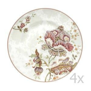 Set 4 talířů Elisabeth, 22,5cm