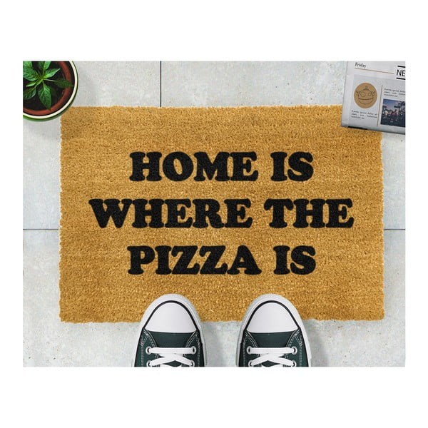 Rohožka Artsy Doormats Home Is Where the Pizza Is, 40 x 60 cm