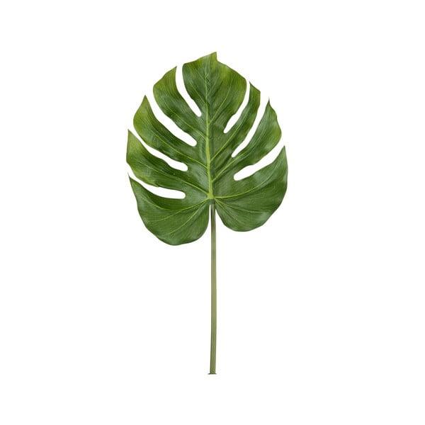 Umělý list Philodendron, 81 cm