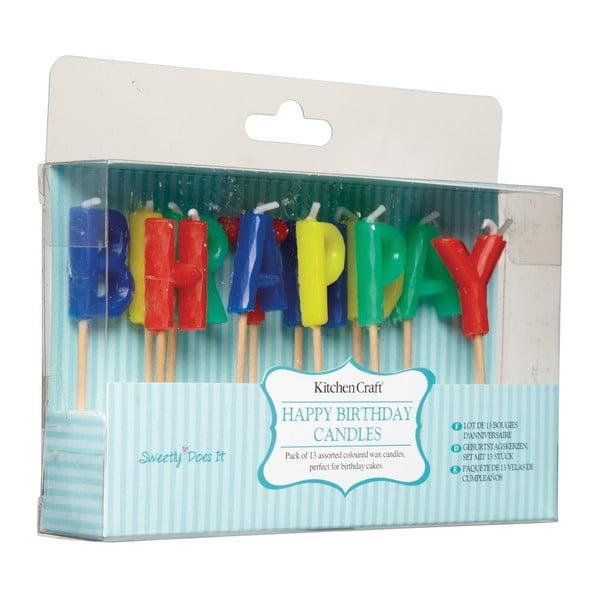 Sada narozeninových svíček Sweetly Does It