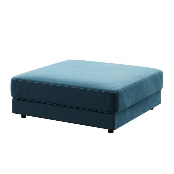 Taburet devichy Laure, 112 x 112 cm, albastru închis
