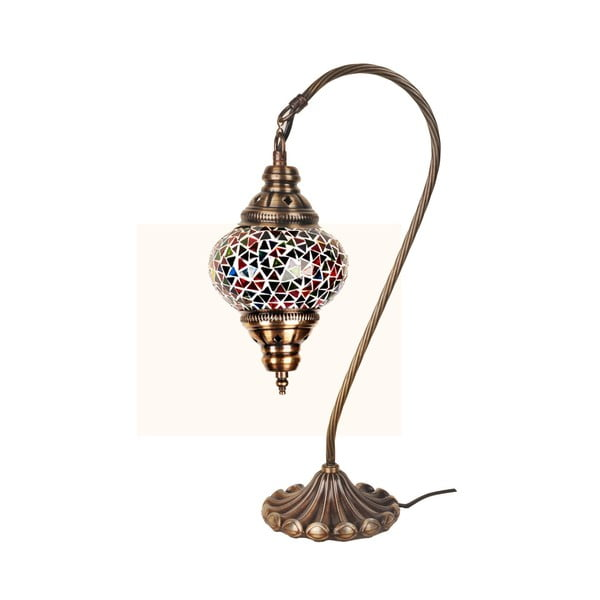 Skleněná lampa Fishing I, 13 cm