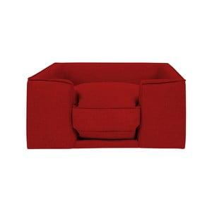 Červený pelíšek pro psy Marendog Diamond