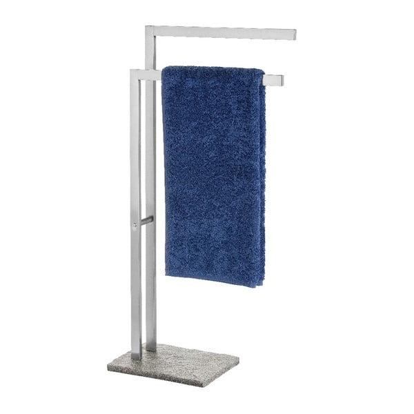 Szary stojak na ręczniki Wenko Granite