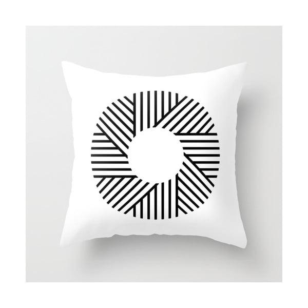 Povlak na polštář Black 'n' White I, 45x45 cm