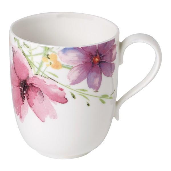 Porcelánový hrnek s motivem květin Villeroy & Boch Mariefleur Tea, 430 ml