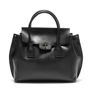 Černá kožená kabelka Isabella Rhea no. 479