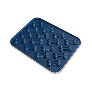 Modrá forma na pečení psích sušenek ve tvaru kosti Nordic Ware