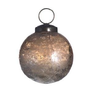 Set šesti skleněných ozdob, Artifact, zlatá