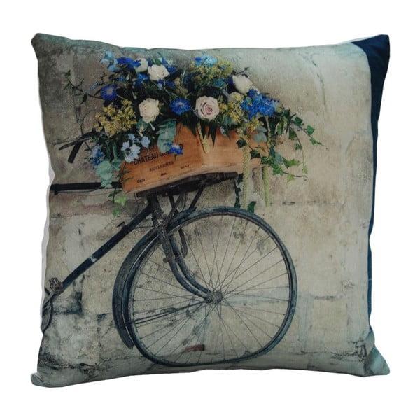 Polštář Flower Bicycle, 45x45 cm