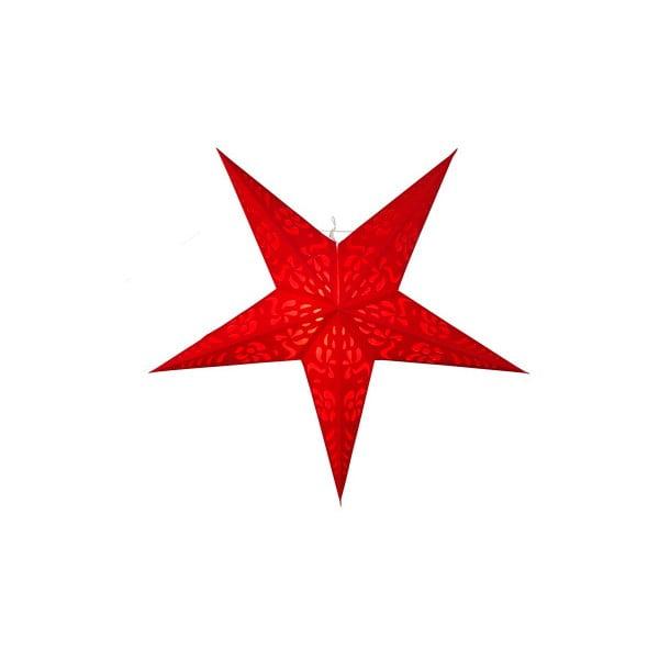 Závěsná svítící hvězda Best Season Five Snow Red