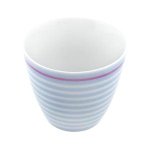 Porcelánový šálek Lines S, modrý 4 ks