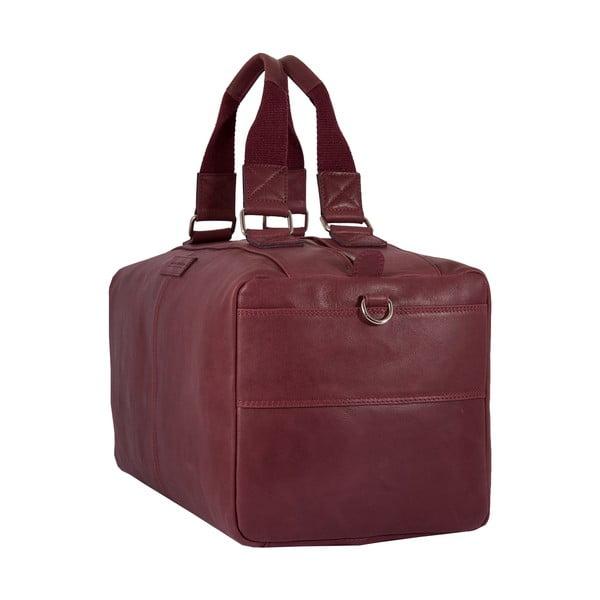 Pánská cestovní taška Vintage Bordeaux