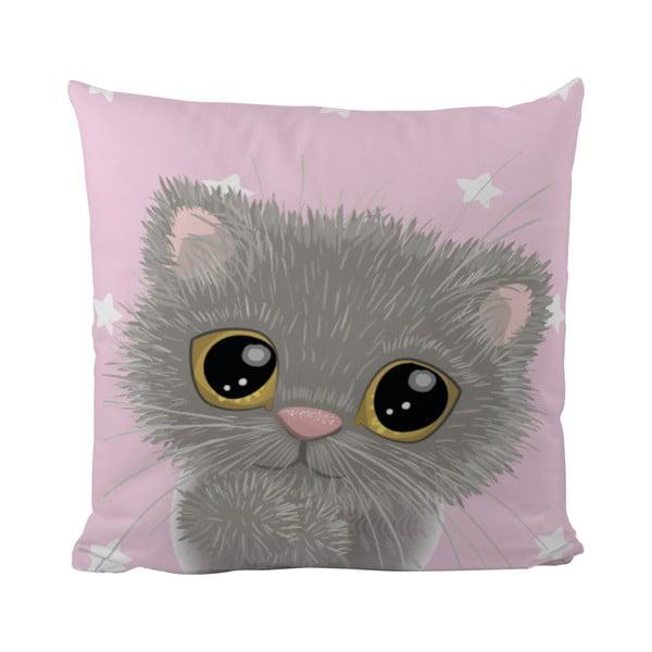 Polštář Mr. Little Fox Small Kitty, 50x50cm