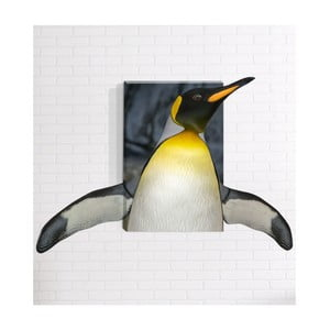 Nástěnný 3D obraz Mosticx Tučňák, 40 x 60 cm