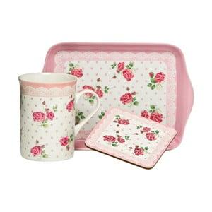 Sada na servírování čaje Rose Pink