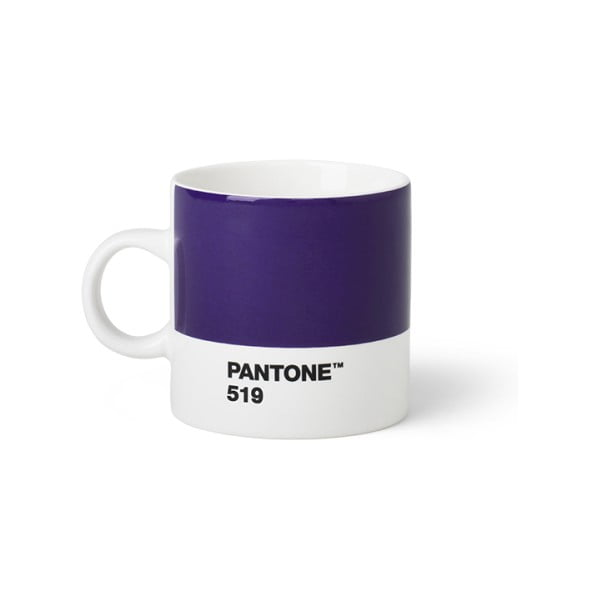 Fioletowy kubek Pantone Espresso, 120 ml