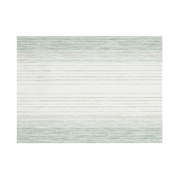 Zielona mata stołowa Tiseco Home Studio Chambray, 45x33 cm