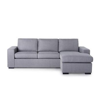 Canapea cu șezlong pe partea dreaptă SoftNord Scandic House, gri de la Softnord