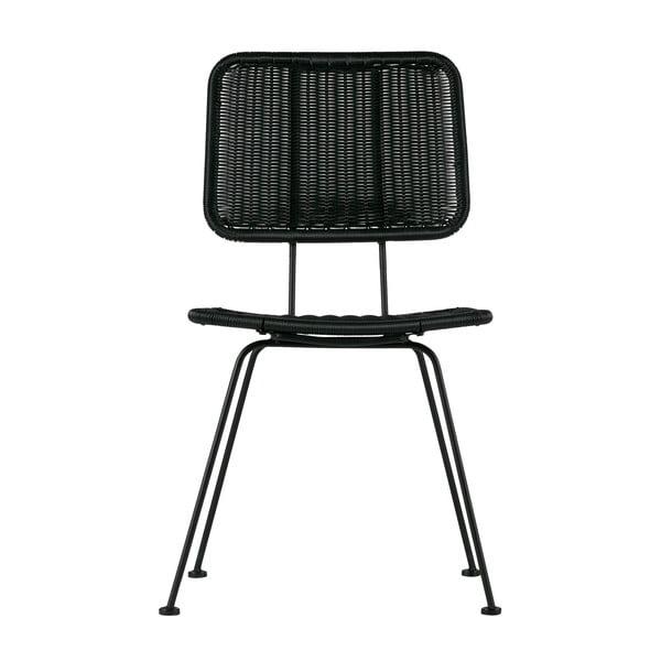 Sada 2 černých židlí WOOOD Hilde