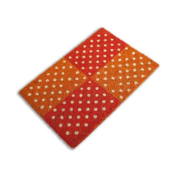 Rohožka Zebrino, oranžová
