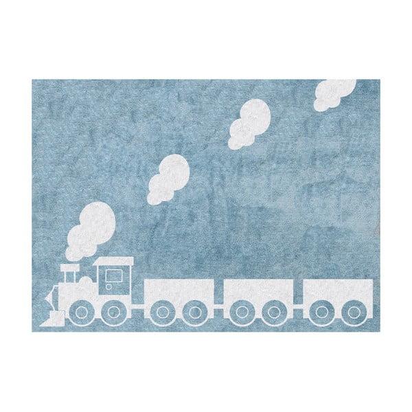 Koberec Tren 160x120 cm, modrý