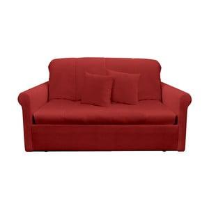 Canapea extensibilă cu 2 locuri 13Casa Greg, roșu
