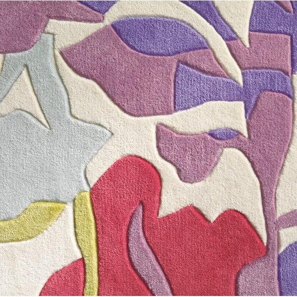 Ručně tkaný koberec Spirit Flower, 140x200 cm