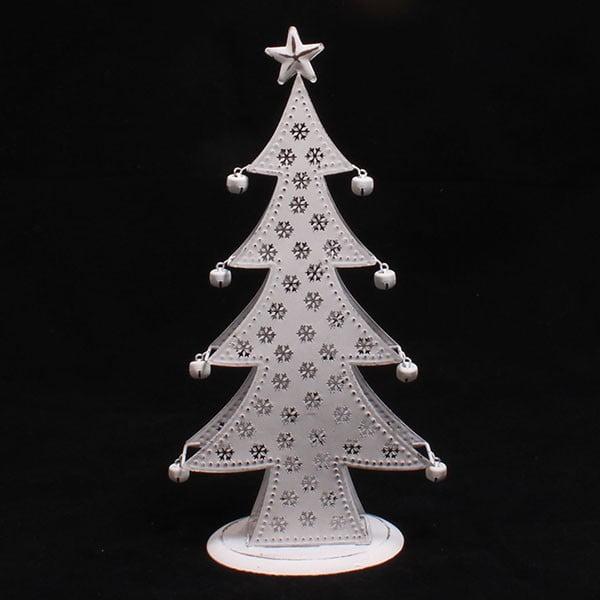 Dekorativní kovový stromek, 14 cm