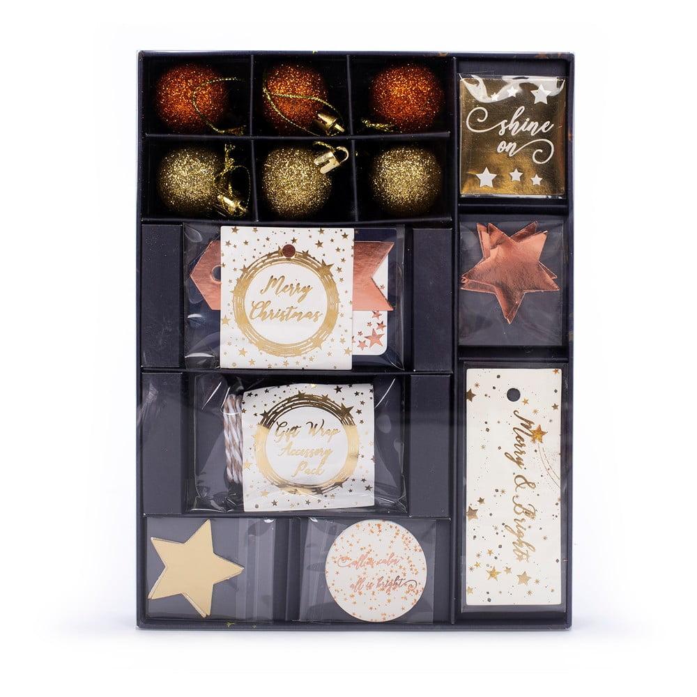 Set vánočních ozdob a jmenovek na dárky Tri-CoastalDesign
