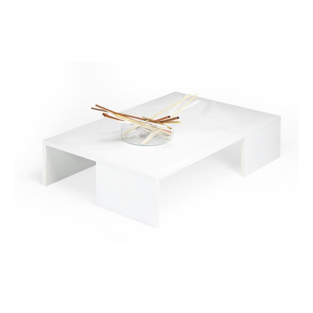 Konferenční stolek v dekoru bílé borovice MobiliFiver Rachelle