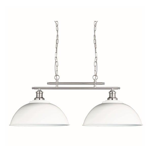 Stropní světlo Duo Silver/White