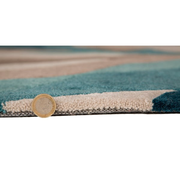 Covor Flair Rugs Splinter Teal, 160 x 220 cm