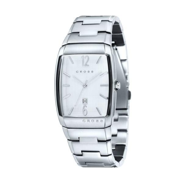 Pánské hodinky Cross Arial Silver White, 32.5 mm