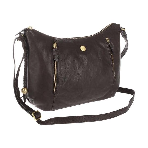 Dámská kožená taška Emilia Brown