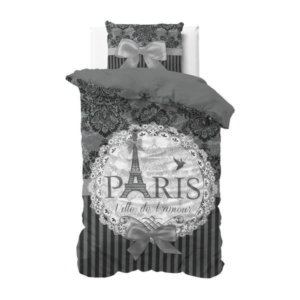 Lenjerie din bumbac, pat de o persoană Dreamhouse Paris, 140 x 220 cm