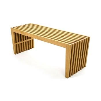 Masă din lemn de stejar Gudas, lungime 175 cm