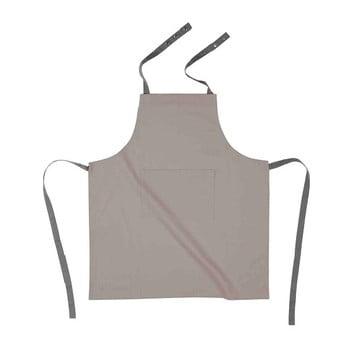 Șorț de bucătărie din bumbac Tiseco Home Studio, gri maro imagine