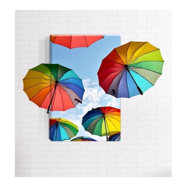 Nástěnný 3D obraz Mosticx Rainbows, 40 x 60 cm