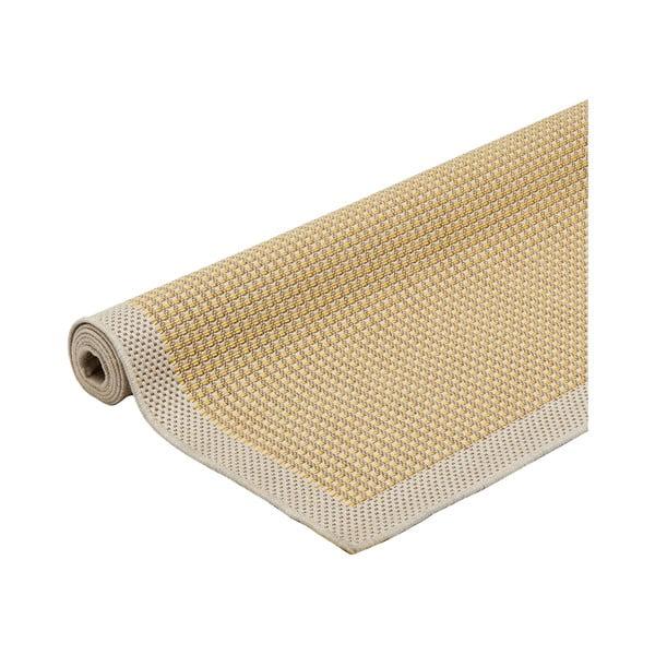 Žlutý vysoce odolný koberec vhodný do exteriéru Webtappeti Chrome, 160x230cm