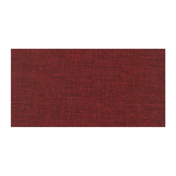 Tmavě červená rozkládací pohovka Modernist Icone, pravý roh