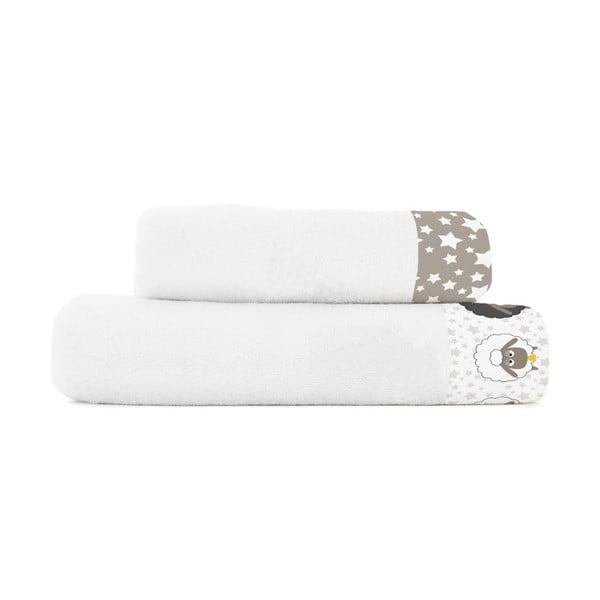 Sada ručníku a osušky Baleno Little Sheep