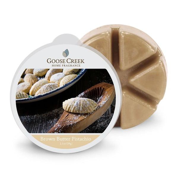 Wosk zapachowy do lampki aromatycznej Goose Creek Brązowe masło pistacjowe