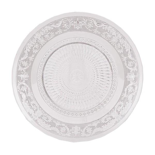 Sada 6 skleněných talířů Clayre, 20 cm
