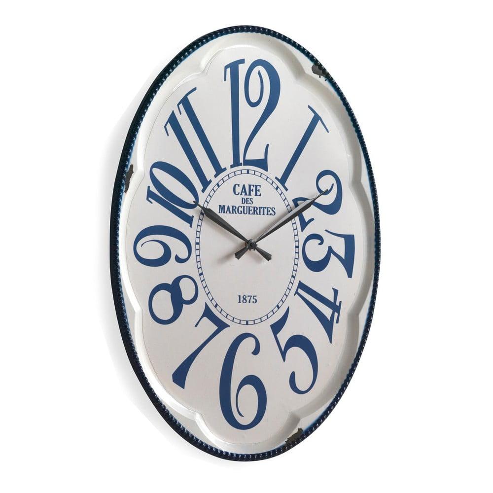 Bílé nástěnné hodiny Geese Standard b1dcd25be7d