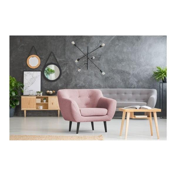 Fotoliu Mazzini Sofas Piemont, roz