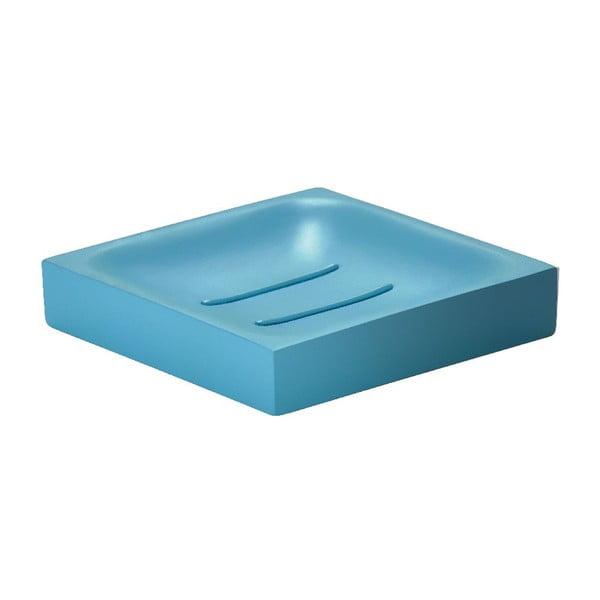 Tácek na mýdlo Cube, tyrkysový