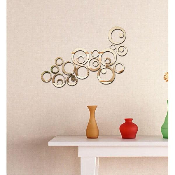 Dekorativní zrcadlo Retro Circles