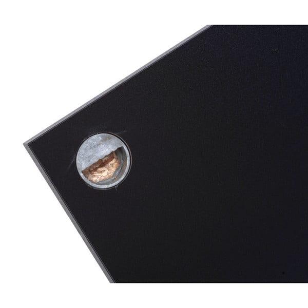 Černý nástěnný policový systém TemaHome Bern, 60cm