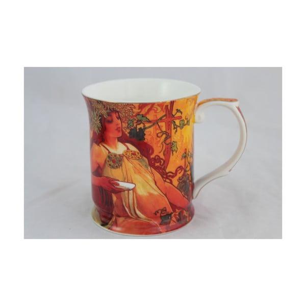 Alfons Mucha - hrnek Podzim, 0,4 l